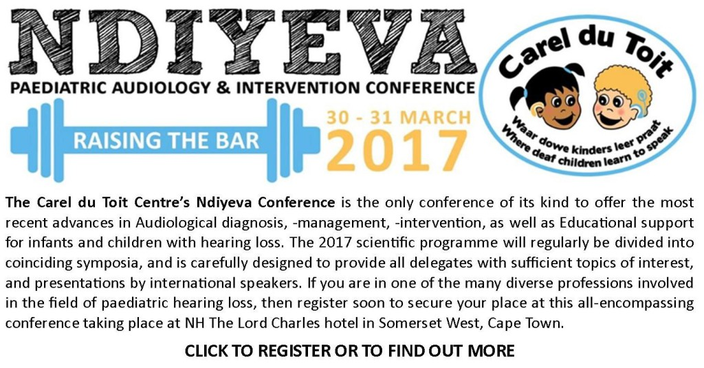 Ndiyeva I can Hear Paediatric Audiology Conference
